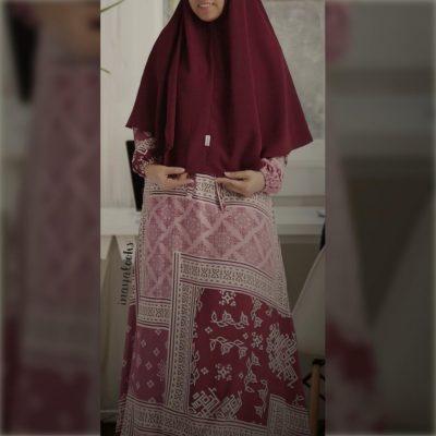 homey dress katun rayon